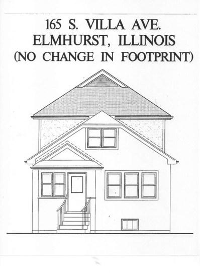 165 S Villa Avenue, Elmhurst, IL 60126 - #: 09992235