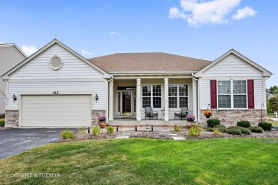 412 Florine Court, Cary, IL 60013 - MLS#: 09992274
