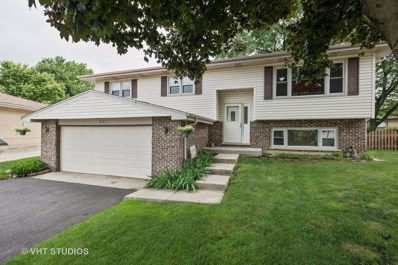 801 Santa Fe Court, Carol Stream, IL 60188 - MLS#: 09992551