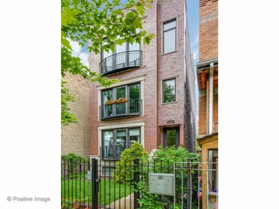 2622 W CORTEZ Street UNIT 3, Chicago, IL 60622 - MLS#: 09992746