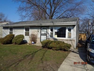 14006 S Lydia Avenue, Robbins, IL 60472 - MLS#: 09996315