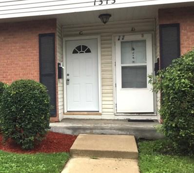 1313 MONOMOY Street UNIT C, Aurora, IL 60506 - MLS#: 09996874