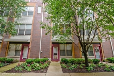 1244 W Monroe Street UNIT 7, Chicago, IL 60607 - MLS#: 10004519