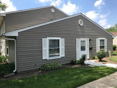 1555 Woodcutter Lane UNIT A, Wheaton, IL 60189 - MLS#: 10005012