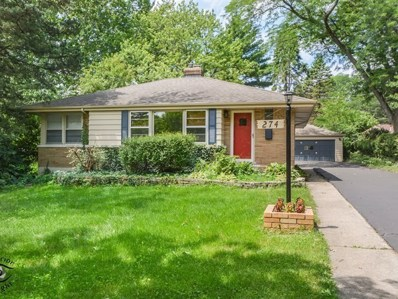 274 Scott Avenue, Glen Ellyn, IL 60137 - MLS#: 10005951