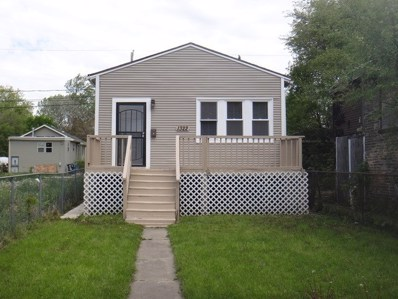 1322 W 110th Place, Chicago, IL 60643 - MLS#: 10006041
