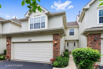 2260 Seaver Lane UNIT 2260, Hoffman Estates, IL 60169 - MLS#: 10008138