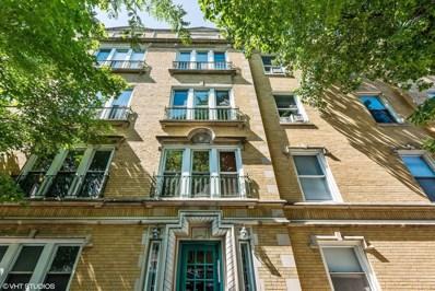 1606 W Winona Street UNIT 3, Chicago, IL 60640 - MLS#: 10008404