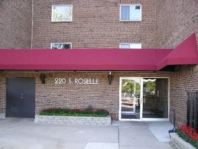 220 S ROSELLE Road UNIT 121, Schaumburg, IL 60193 - MLS#: 10009147