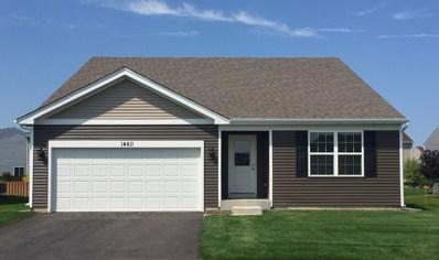 1460 Crest Drive, Pingree Grove, IL 60140 - #: 10009376