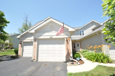 116 Golfview Drive, Glendale Heights, IL 60139 - #: 10009725