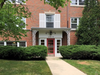 2545 Bennett Avenue UNIT G, Evanston, IL 60201 - MLS#: 10013054