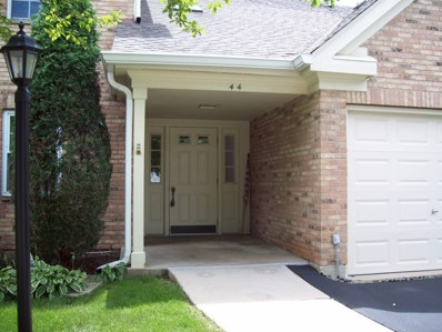 44 Amber Court UNIT V2, Schaumburg, IL 60193 - MLS#: 10014102