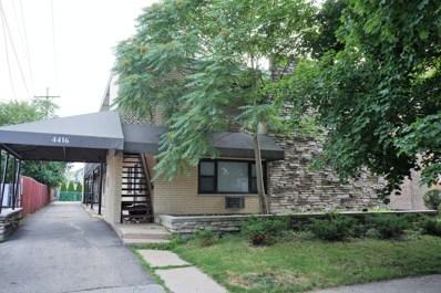 4416 N Kostner Avenue UNIT 1A, Chicago, IL 60630 - MLS#: 10016450