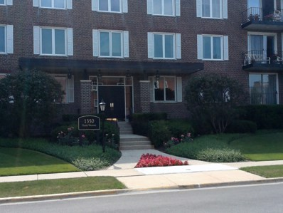 1350 N Western Avenue UNIT 309, Lake Forest, IL 60045 - MLS#: 10016527