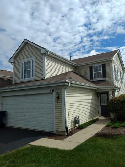 508 Prairie View Drive, Minooka, IL 60447 - MLS#: 10017780