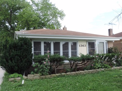 1363 Buffalo Avenue, Calumet City, IL 60409 - MLS#: 10018823