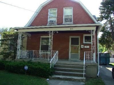 470 Ryerson Avenue, Elgin, IL 60123 - #: 10019878