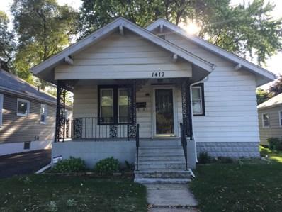 1419 N Raynor Avenue, Joliet, IL 60435 - MLS#: 10022171