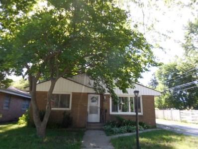 16724 Anthony Avenue, Hazel Crest, IL 60429 - MLS#: 10022998