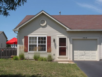 1415 Red Top Lane, Minooka, IL 60447 - MLS#: 10030818