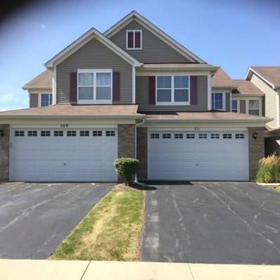 511 Majestic Lane UNIT A1, Oswego, IL 60543 - MLS#: 10030854