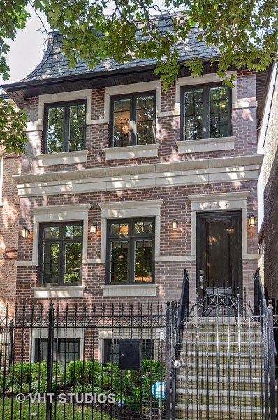 1638 N Bell Avenue, Chicago, IL 60647 - MLS#: 10033416