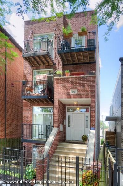 1712 N Albany Avenue UNIT 3, Chicago, IL 60647 - #: 10034799