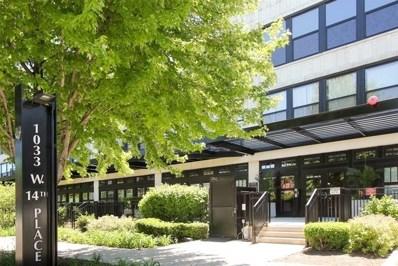 1033 W 14th Place UNIT 337, Chicago, IL 60608 - MLS#: 10035769