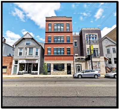 1428 W Belmont Avenue UNIT 3, Chicago, IL 60657 - MLS#: 10036281