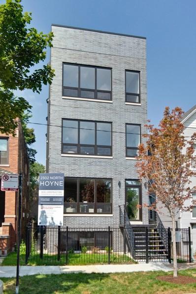 2302 N Hoyne Avenue UNIT 2, Chicago, IL 60647 - #: 10038140