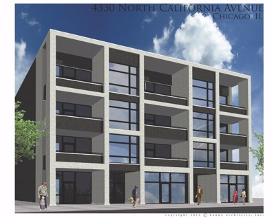 4330 N California Avenue UNIT 2C, Chicago, IL 60618 - MLS#: 10039810