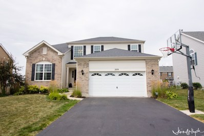 209 Fieldstone Drive, Woodstock, IL 60098 - #: 10042757