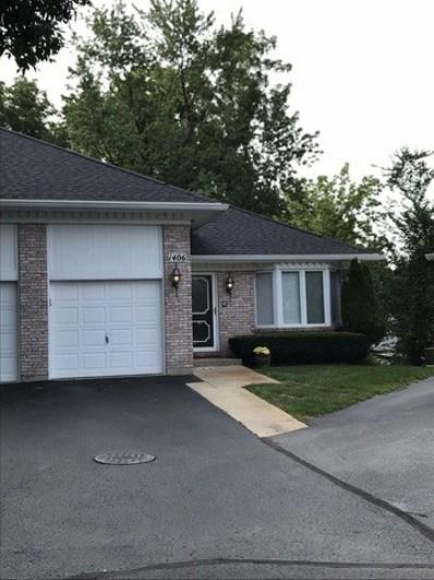 1406 Regency Ridge Drive UNIT 1406, Joliet, IL 60436 - MLS#: 10043618