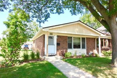 210 Jefferson Lane, Wood Dale, IL 60191 - MLS#: 10046848