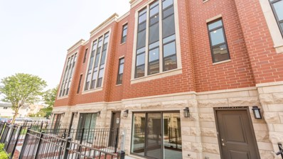 2237 W Coulter Street UNIT 3, Chicago, IL 60608 - MLS#: 10053482