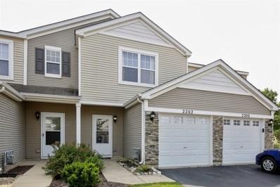 2202 Flagstone Lane, Carpentersville, IL 60110 - #: 10054027