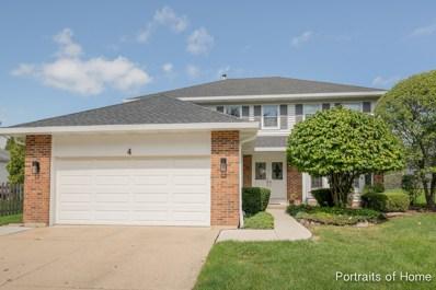 4 E Fabish Drive, Buffalo Grove, IL 60089 - MLS#: 10054791