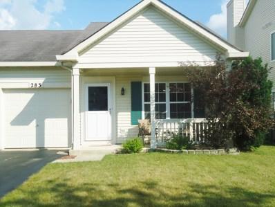 283 Richmond Drive, Romeoville, IL 60446 - #: 10058268