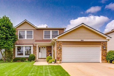 864 Debra Lane, Elk Grove Village, IL 60007 - #: 10062086