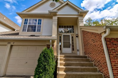 331 Ashford Circle UNIT 3, Bartlett, IL 60103 - #: 10069301
