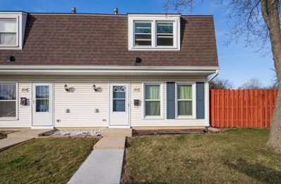 1852 Jamestown Circle UNIT 381, Hoffman Estates, IL 60169 - #: 10072044