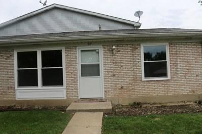 27 Wildwood Lane UNIT G, Bolingbrook, IL 60440 - MLS#: 10075113