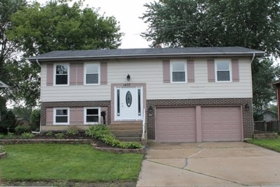 1475 Caldwell Lane, Hoffman Estates, IL 60169 - #: 10075272