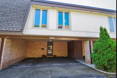 1865 Tanglewood Drive UNIT C, Glenview, IL 60025 - MLS#: 10076402