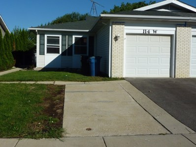 114 W Stevenson Drive, Glendale Heights, IL 60139 - MLS#: 10077227