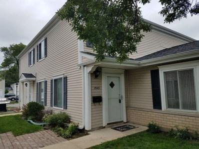 1343 Cove Drive UNIT 206B, Prospect Heights, IL 60070 - MLS#: 10077288