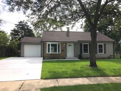 801 Parkside Circle, Streamwood, IL 60107 - #: 10077648