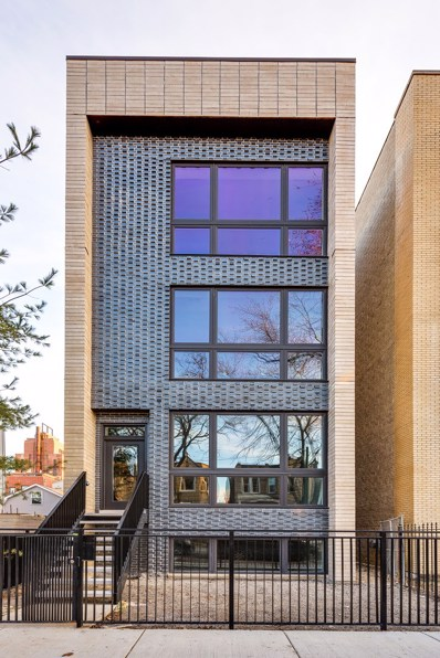 2423 W Haddon Avenue UNIT 3, Chicago, IL 60622 - #: 10077930