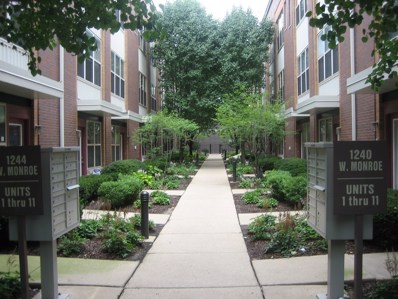 1244 W Monroe Street UNIT 3, Chicago, IL 60607 - MLS#: 10079020